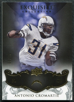 2008 Upper Deck Exquisite Collection #82 Antonio Cromartie /75