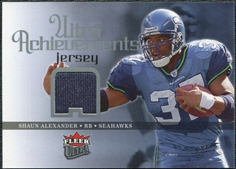 2006 Fleer Ultra Achievements Jerseys #UASA Shaun Alexander