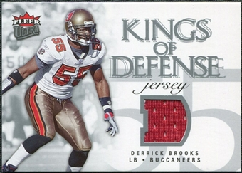 2006 Fleer Ultra Kings of Defense Jerseys #KDDB Derrick Brooks