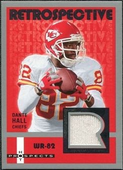 2006 Fleer Hot Prospects Retrospective Jerseys #REDH Dante Hall