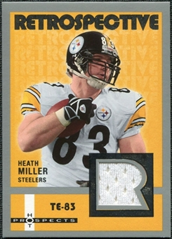 2006 Fleer Hot Prospects Retrospective Jerseys #REHM Heath Miller