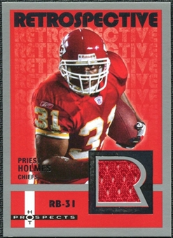 2006 Fleer Hot Prospects Retrospective Jerseys #REPH Priest Holmes