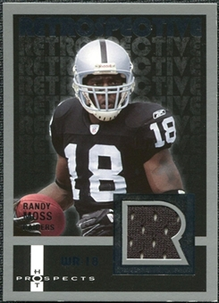 2006 Fleer Hot Prospects Retrospective Jerseys #RERM Randy Moss