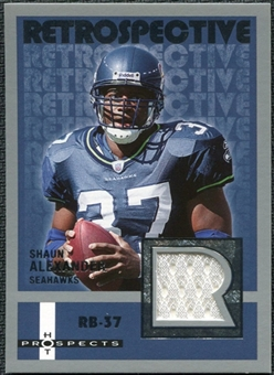 2006 Fleer Hot Prospects Retrospective Jerseys #RESA Shaun Alexander