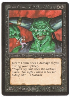Magic the Gathering Arabian Nights Single Juzam Djinn - SLIGHT PLAY (SP)