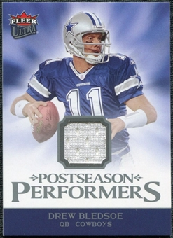 2006 Fleer Ultra Postseason Performers Jerseys #UPPDB Drew Bledsoe
