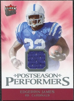 2006 Fleer Ultra Postseason Performers Jerseys #UPPEJ Edgerrin James