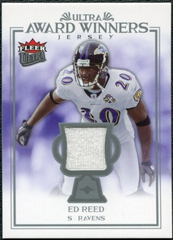 2006 Fleer Ultra Award Winners Jerseys #UAAER Ed Reed