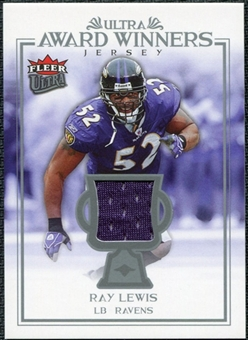 2006 Fleer Ultra Award Winners Jerseys #UAARL Ray Lewis