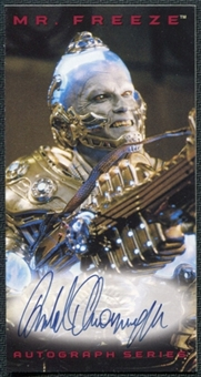 1997 Batman and Robin Autographs Arnold Schwarzenegger as Mr. Freeze