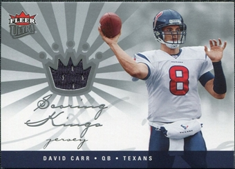 2006 Fleer Ultra Scoring Kings Jerseys #SKDC David Carr