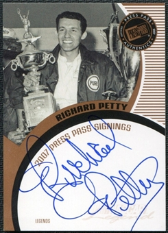 2007 Press Pass Signings #57 Richard Petty