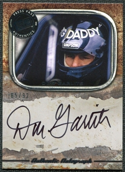 2010 Press Pass Legends Autographs Silver #8 Don Garlits 65/92