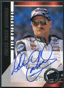 2000 Press Pass Signings #14 Dale Earnhardt