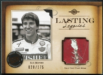 2010 Press Pass Legends Lasting Legacies Copper Sheet Metal Rob Moroso 28/175