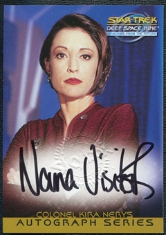 1999 Star Trek DS9 Memories from the Future Autographs #4 Nana Visitor