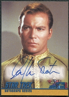 1997 Star Trek The Original Series Season 1 Autographs #A1 William Shatner SP