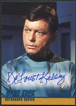 1999 Star Trek The Original Series Season 3 Autographs #A61 DeForest Kelley SP