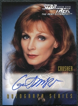 1999 Star Trek The Next Generation Season 7 Autographs #A4 Gates McFadden