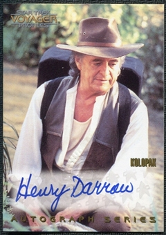 1996 Star Trek Voyager Profiles Autographs #13 Henry Darrow