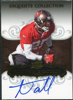 2008 Upper Deck Exquisite Collection #107 Aqib Talib Autograph /150