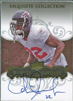 2008 Upper Deck Exquisite Collection #108 Chevis Jackson Autograph /150