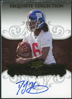 2008 Upper Deck Exquisite Collection #110 DJ Hall Autograph /150