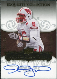 2008 Upper Deck Exquisite Collection #126 Jack Ikegwuonu Autograph /150