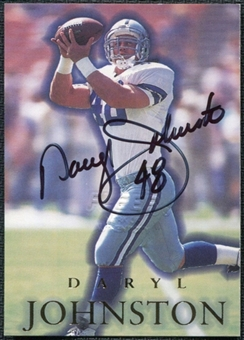 1996 SkyBox Premium Autographs #A4 Daryl Johnston