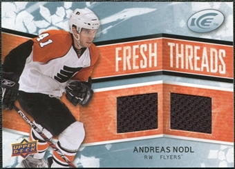 2008/09 Upper Deck Ice Fresh Threads #FTAN Andreas Nodl