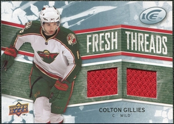 2008/09 Upper Deck Ice Fresh Threads #FTCG Colton Gillies