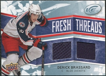 2008/09 Upper Deck Ice Fresh Threads #FTDB Derick Brassard