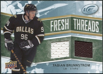2008/09 Upper Deck Ice Fresh Threads #FTFB Fabian Brunnstrom