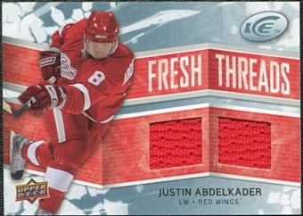 2008/09 Upper Deck Ice Fresh Threads #FTJA Justin Abdelkader