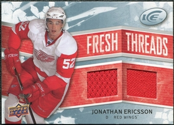 2008/09 Upper Deck Ice Fresh Threads #FTJE Jonathan Ericsson