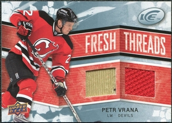2008/09 Upper Deck Ice Fresh Threads #FTPV Petr Vrana