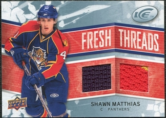 2008/09 Upper Deck Ice Fresh Threads #FTSM Shawn Matthias