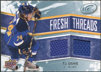 2008/09 Upper Deck Ice Fresh Threads #FTTO T.J. Oshie