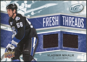 2008/09 Upper Deck Ice Fresh Threads #FTVM Vladimir Mihalik