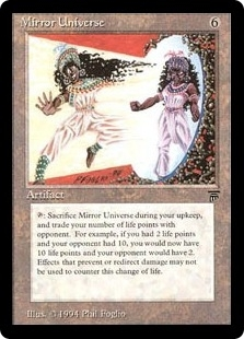Magic the Gathering Legends Single Mirror Universe - SLIGHT PLAY (SP)