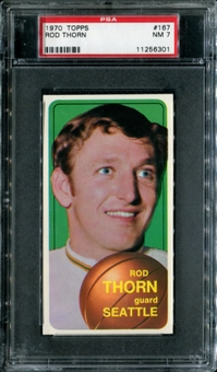 1970/71 Topps Basketball #167 Rod Thorn PSA 7 (NM) *6301