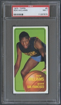 1970/71 Topps Basketball #8 Ron Williams PSA 7 (NM) *7575