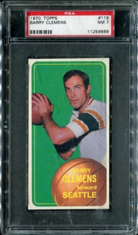 1970/71 Topps Basketball #119 Barry Clemens PSA 7 (NM) *9689