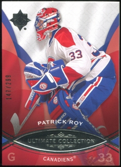 2008/09 Upper Deck Ultimate Collection #21 Patrick Roy 147/299