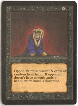 Magic the Gathering Beta Single Mind Twist - NEAR MINT (NM)