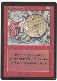 Magic the Gathering Beta Single Wheel of Fortune - NEAR MINT/SLIGHT PLAY (NM/SP)