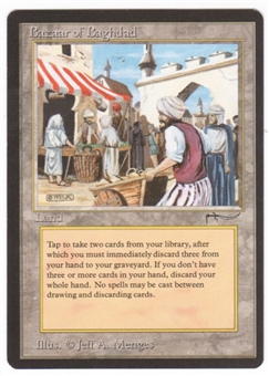 Magic the Gathering Arabian Nights Single Bazaar of Baghdad UNPLAYED (NM/MT)