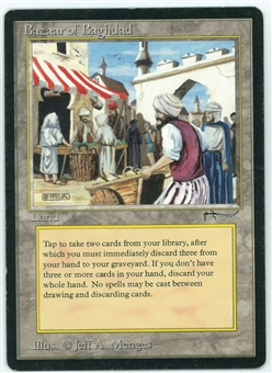 Magic the Gathering Arabian Nights Single Bazaar of Baghdad - SLIGHT PLAY (SP)