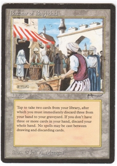 Magic the Gathering Arabian Nights Single Bazaar of Baghdad LIGHT PLAY (NM)