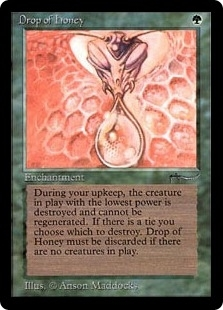 Magic the Gathering Arabian Nights Single Drop of Honey - NEAR MINT MINUS (NM-)